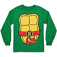 Teenage Mutant Ninja Turtles Costume Adult Long Sleeved T-Shirt