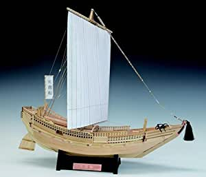 ウッディジョー/木製和船模型 1/72北前船(塗料付)