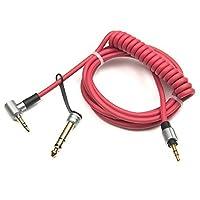 iKNOWTECH ® 3.5MM & 6.5MM交換用のオーディオケーブルヘッドホンコードモンスターBeats Pro Detox By Dr。Dre