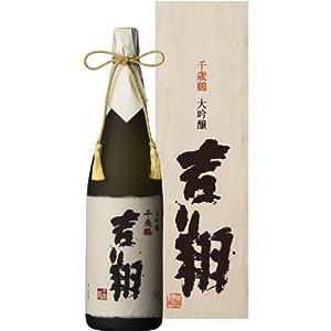 千歳鶴 大吟醸 [ 日本酒 北海道 1800ml ]