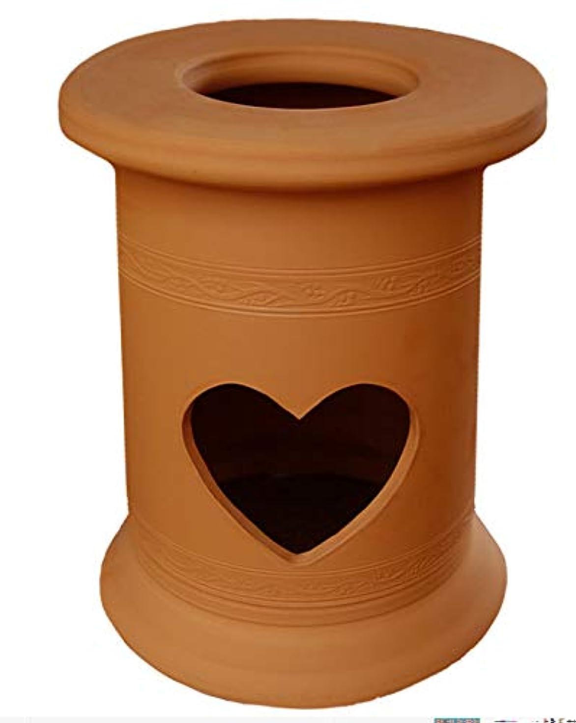 投獄アマチュア法廷黄土のヨモギが最高、電気鍋利用の子宮集中形の黄土陶磁器ヨモギ蒸しセット<電気鍋入り>