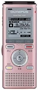 OLYMPUS ICレコーダー VoiceTrek 2GB MicroSD対応 MP3/WMA PNK ピンク V-821
