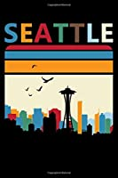 Seattle: Retro Lined Notebook Journal Diary 6x9