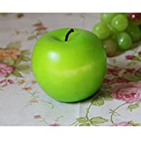 Linyuan 安定した品質 5PCS Artificial Red Apples Decorative Fruit by Best Artificial 0023#