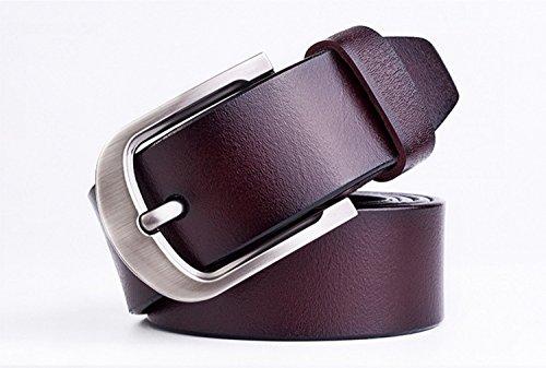 (トップワンセール)Toponesell TOPONE(トップワン) ベルト メンズ 革 バックル おしゃれ ビジネス カジュアル 紳士 牛革 レザー ブローチ クラシック
