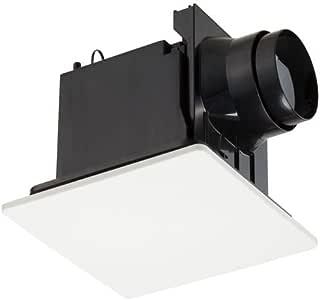 東芝キャリア ダクト用 換気扇 低騒音 フラットパネル ムーンホワイト 10cm DVF-T10CB