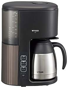 タイガー コーヒーメーカー 8杯用 真空 ステンレス サーバー アイス機能付き カフェブラック ACE-S080KQ