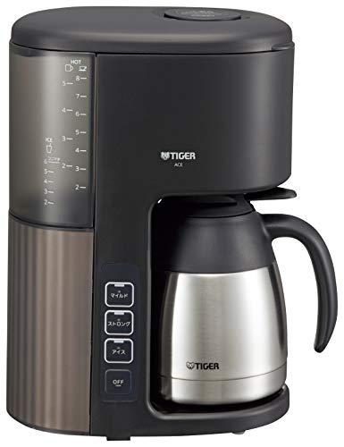 タイガー コーヒーメーカー ブラック 1080ml (ACE-S080-KQ)