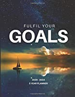 2020-2024 Five Year Planner Monthly Calendar Goals Agenda Schedule Organizer: 60 Months Calendar; Appointment Diary Journal With Address Book, Password Log, Notes, Julian Dates & Inspirational Quotes