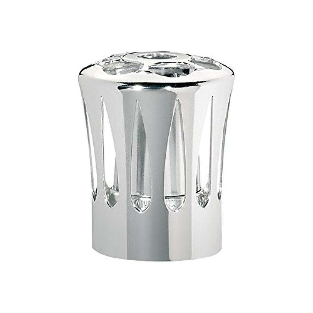 燃料ルビー留め金ランプベルジェ(LAMPE BERGER) 安全キャップ【正規輸入品】飾り蓋シルバー