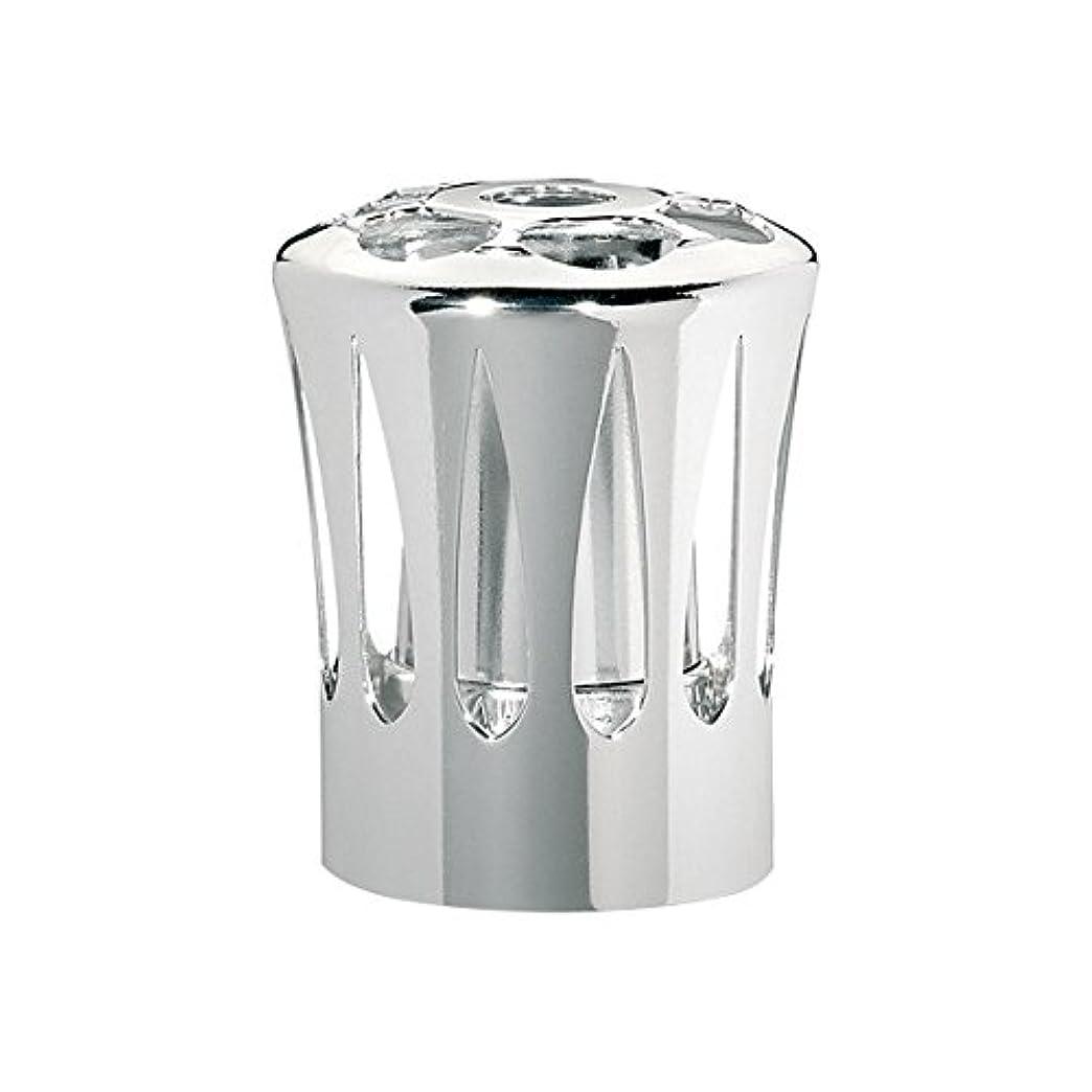 腐った咳テニスランプベルジェ(LAMPE BERGER) 安全キャップ【正規輸入品】飾り蓋シルバー