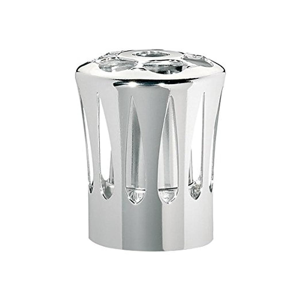 特定の平均分割ランプベルジェ(LAMPE BERGER) 安全キャップ【正規輸入品】飾り蓋シルバー