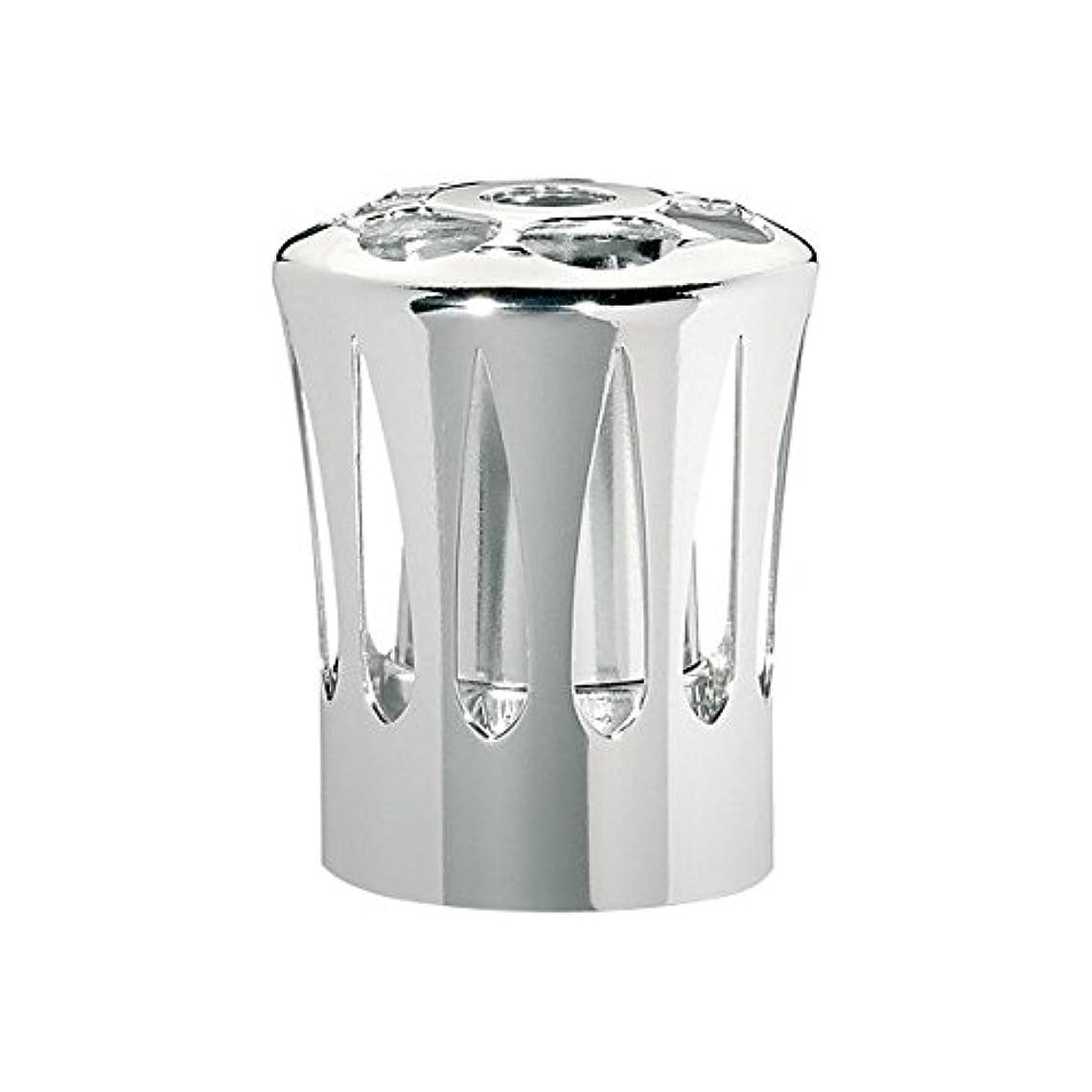 不機嫌そうな光電すりランプベルジェ(LAMPE BERGER) 安全キャップ【正規輸入品】飾り蓋シルバー