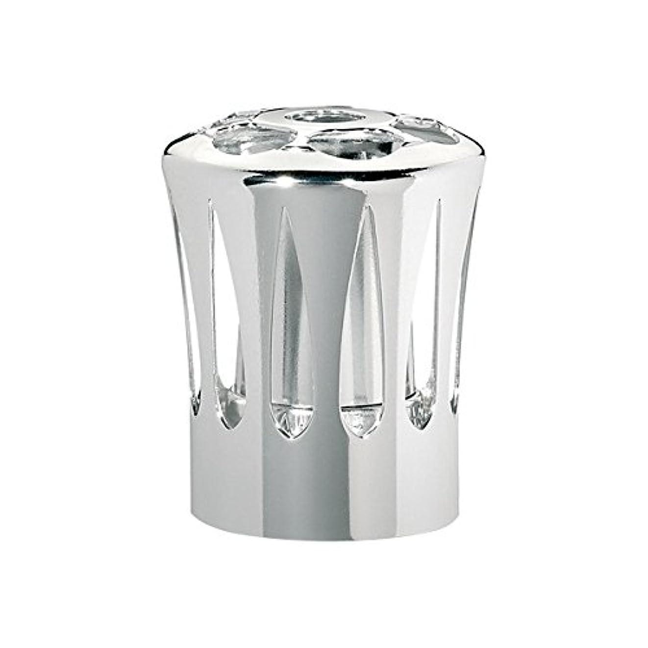 数値軽減する地質学ランプベルジェ(LAMPE BERGER) 安全キャップ【正規輸入品】飾り蓋シルバー