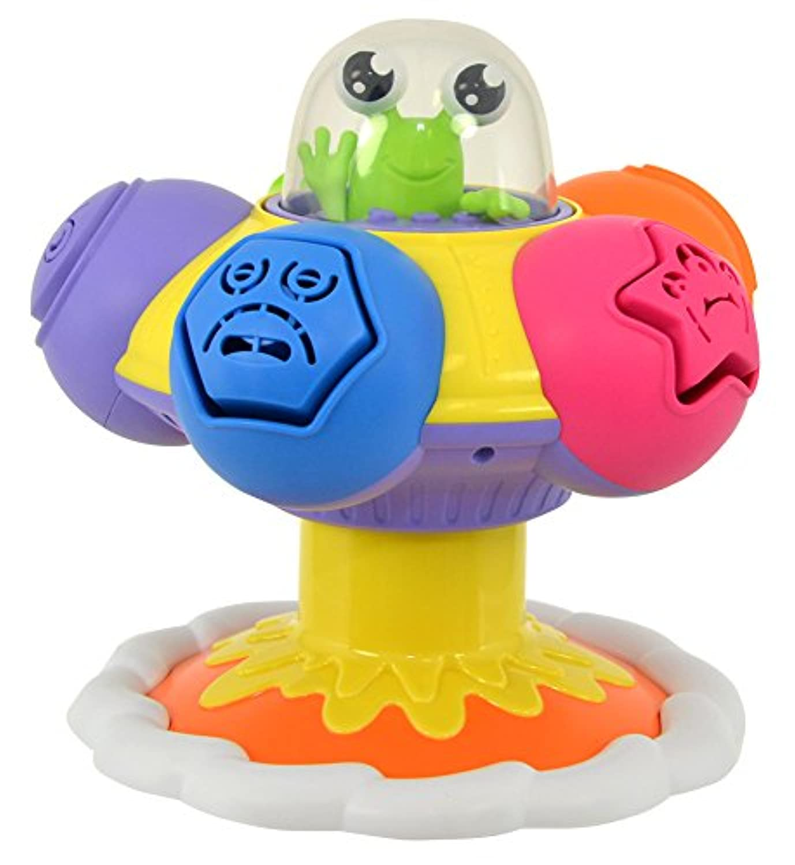 Toomies Sort & Pop Spinning UFO Preschool Toy