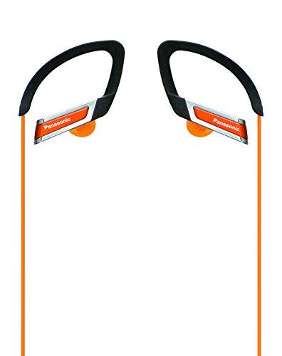 パナソニック カナル型イヤホン 耳掛け式 防滴仕様 スポーツ用 オレンジ RP-HS200-D