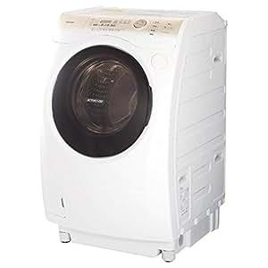 東芝 9.0kg ドラム式洗濯乾燥機【左開き】グランホワイトTOSHIBA TW-Z400L-W