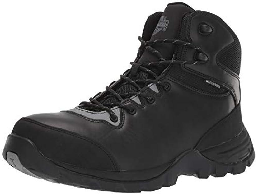 テレマコスシガレット助手HARLEY-DAVIDSON フットウェア メンズ Benham Ct コンストラクションブーツ US サイズ: 24.5 カラー: ブラック