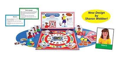 Communicateジュニア社会的スキルPizzaパーティーボードゲーム–Super Duper Educational Learningおもちゃfor Kids
