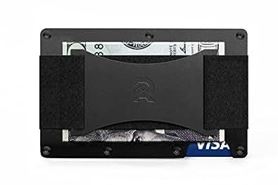 [ザ リッジ] the RIDGE スマートフォンよりも薄い財布 マネーバンド キャッシュ ストラップ チタニウム ブラック