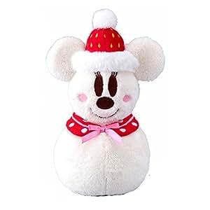 ディズニー クリスマス 2015 ぬいぐるみ ミニー スノーマン 雪だるま ( 東京 ディズニーリゾート限定 グッズ お土産 )