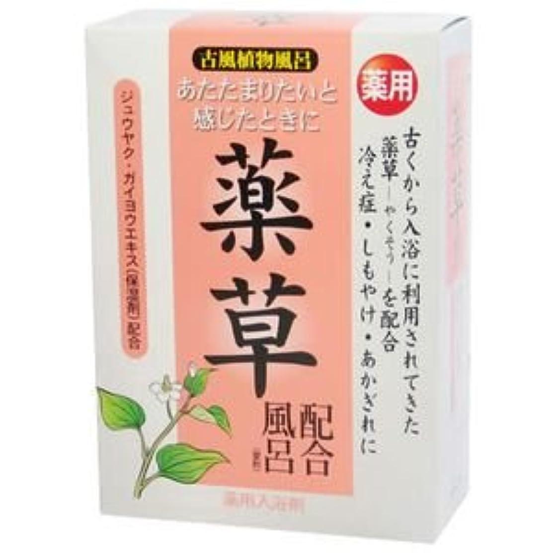 着替える怪しい必需品古風植物風呂 薬草配合風呂 25g*5包
