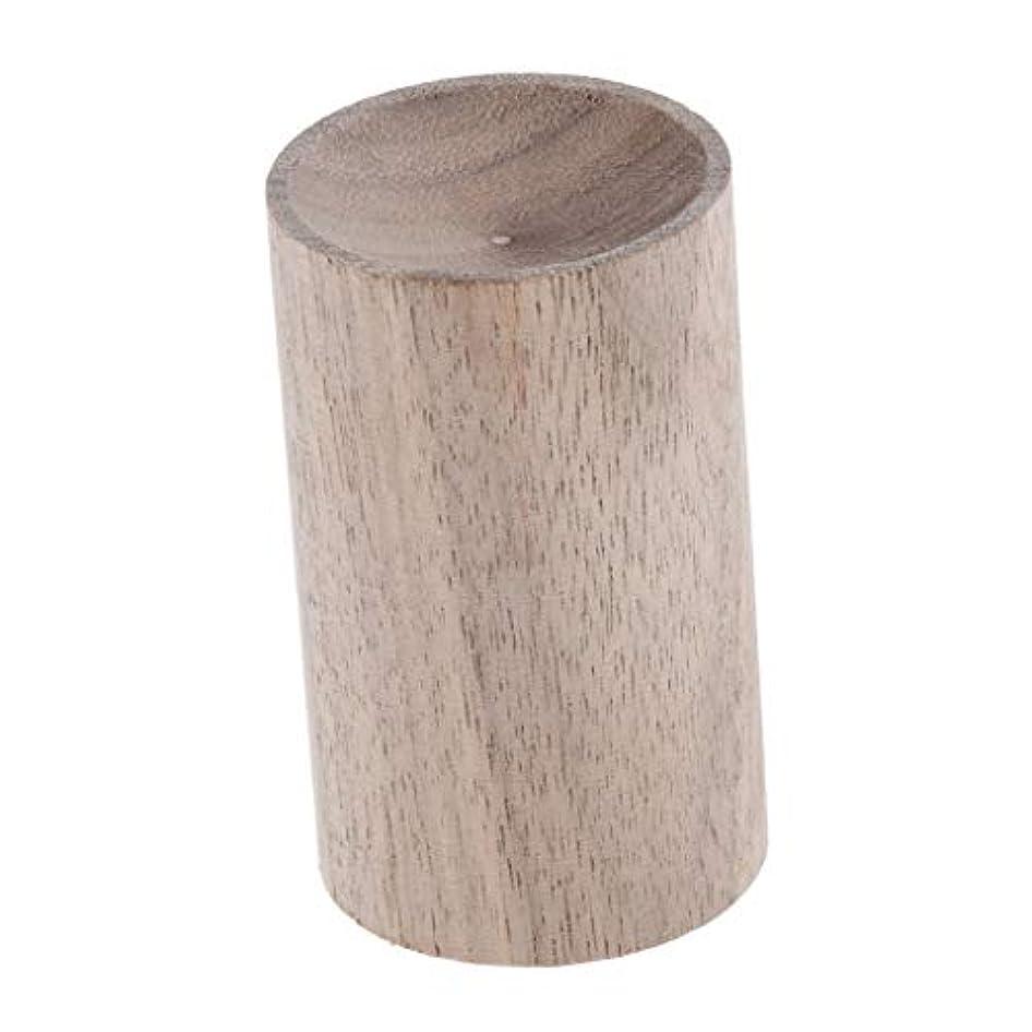 温度計泣く開いた天然木 ハンドメイド 旅行 空気清浄機 エッセンシャルオイル 香水 アロマディフューザー 2種選ぶ - 02, 3.2cm