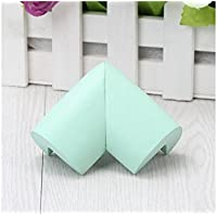 Wesoce Safe Edge and Corner Cushion Home Furniture Safety Bumpers Toddler Table Protector(Green) Beautiful Appearance