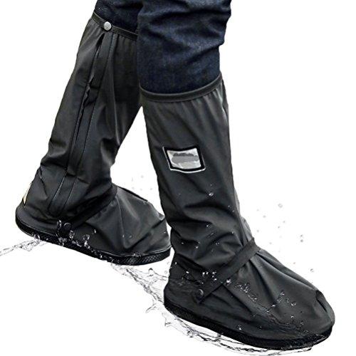 シューズカバー 防水 防寒 雪 雨 泥除け 携帯可 ブーツ ...