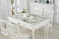 WTL テーブルクロス防水コーヒーテーブルパッドプラスチックテーブルクロス防水油テーブルマット (色 : K k, サイズ さいず : 60*120センチメートル)