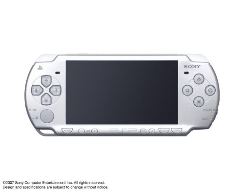 PSP「プレイステーション・ポータブル」 アイス・シルバー (PSP-2000IS) 【メーカー生産終了】