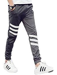 (コズーン)KO ZOON B15 ジョガーパンツ スリム メンズ トレーニング スウェット 3本線 メンズファッション