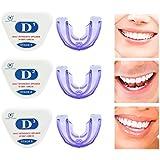 歯合わせリテーナ、歯列矯正用リテーナ、歯列矯正用歯型アプライアンスナイトマウスガードスリム、矯正用プロテクター、歯科矯正トレーナ,D1+D2+D3