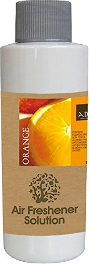 パス青削除するエアーフレッシュナー 芳香剤 アロマ ソリューション オレンジ 120ml