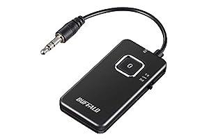 BUFFALO Bluetoothオーディオトランスミッター&レシーバー 低遅延対応 BSHSBTR500BK
