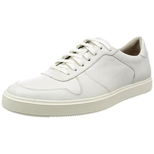 [クラークス] シューズ メンズ カルデロンスピード 26123299 White Leather ホワイトレザー UK 6.5(24.5cm)