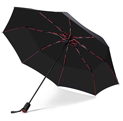 VONDAVO 折り畳み傘 ワンタッチ 自動開閉 折りたたみ傘...