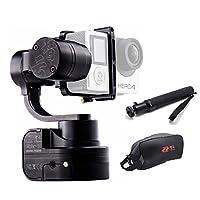 Zhiyun Rider-M 3軸ブラシレスウェアラブルハンドヘルドジンバルスタビライザ3.5mm AV出力、ワイヤレスApp/Bluetoothリモートコントロール、3つのコントロールモード、フルアルミのコントラクション。 アクションカメラ用GoPro Hero 1/2/3 +/4/5、xiaomi yi カメラスタビライザー