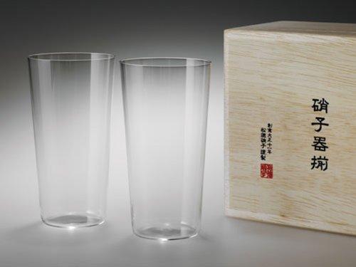 うすはりグラス タンブラーL 木箱2個セット