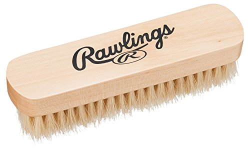 Rawlings(ローリングス) 磨け ブラシ(馬毛 白) EAOL6S14 - 縦3.8cm ×横13.8cm