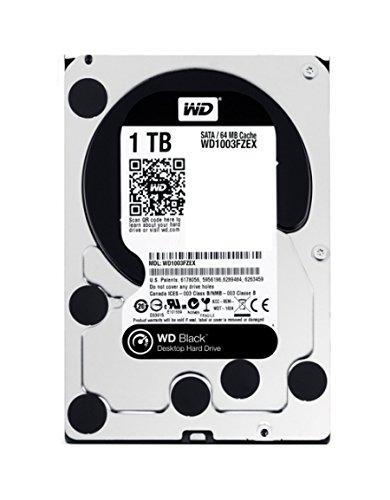 WD ゲーミング/クリエイティブ HDD 内蔵ハードディスク 3.5インチ 1TB WD Black WD1003FZEX SATA3.0 7200rpm 64MB 5年保証