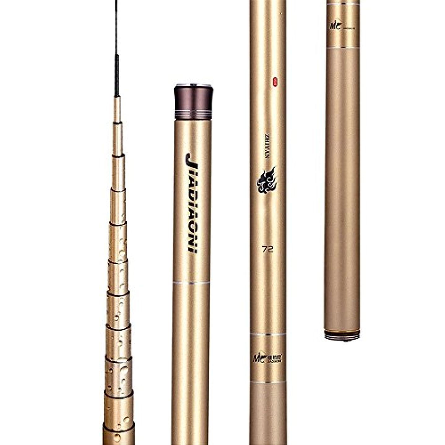異なるワゴンハーネスボート用シーフィッシングリールギアポール 釣りロッド釣り用品釣り竿川のリバーサイドに適した炭素鋼棒 (サイズ : 3.6m)