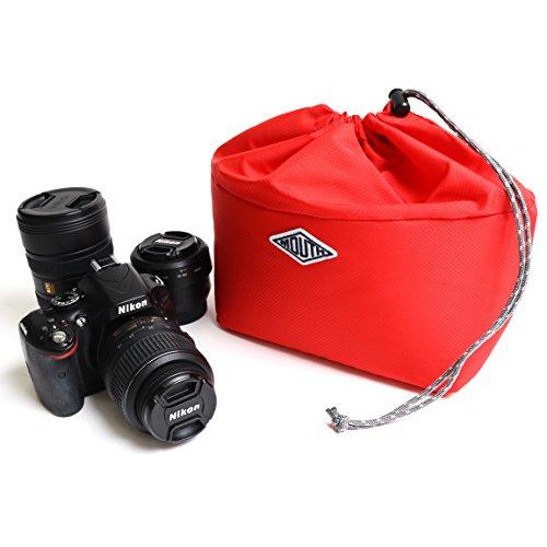 カメラバッグ インナーケース インナーボックス 一眼レフ MOUTH マウス MOLAR2 MJC15048 (RED)