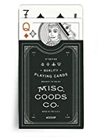 Misc. Goods Co. MGCO Black Playing Cards Standard Version [並行輸入品]