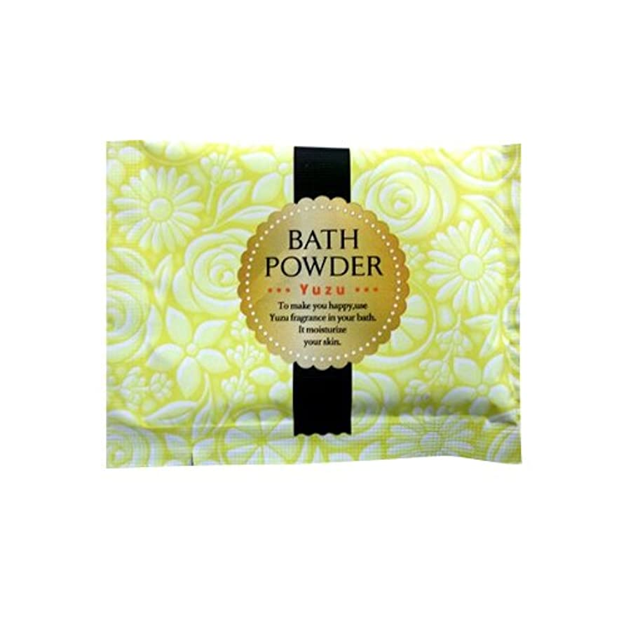 知恵タービン低下入浴剤 LUCKY BATH (ラッキーバス) 25g ユズの香り