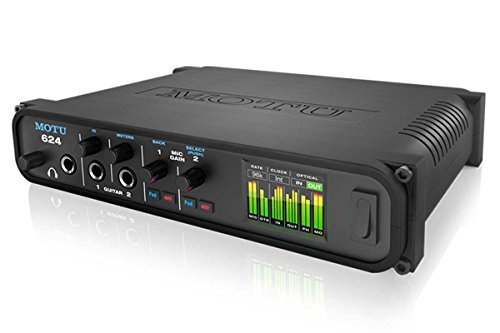 MOTU 624 16in 16out Thunderbolt/USB/AVBオーディオインターフェイス