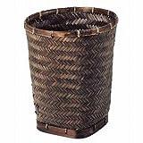 竹バスケット 丸型29cm 07-37