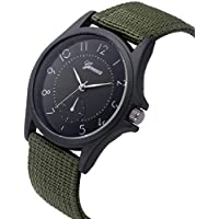 Fartido 1X Men's Quartz Wristwatch Sport Casual Watches Nylon Strap