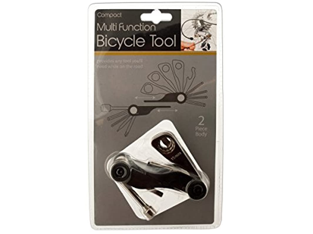 監督する愛写真を撮るBicycle Multitool for Bike Repairs Easy to Use, Compact & Designed to Fit Nicely into a FannyPack or BackPack Includes Six Hex Wrenches Phillips and Flathead Screwdrivers and More, Never Get Stranded on the Road without this Multitool by Sories