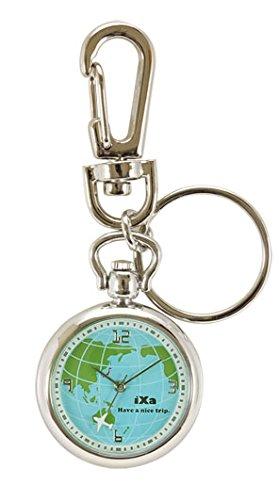 J-AXIS 世界地図キーホルダー ファッション雑貨腕時計 レディース ブルー SP93-BL